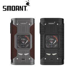 Asli Smoant Cylon TC Box MOD 218 W Vape MOD Didukung Oleh Ganda 18650 Baterai Rokok Elektronik Vape Box MOD VS Smoant Naboo