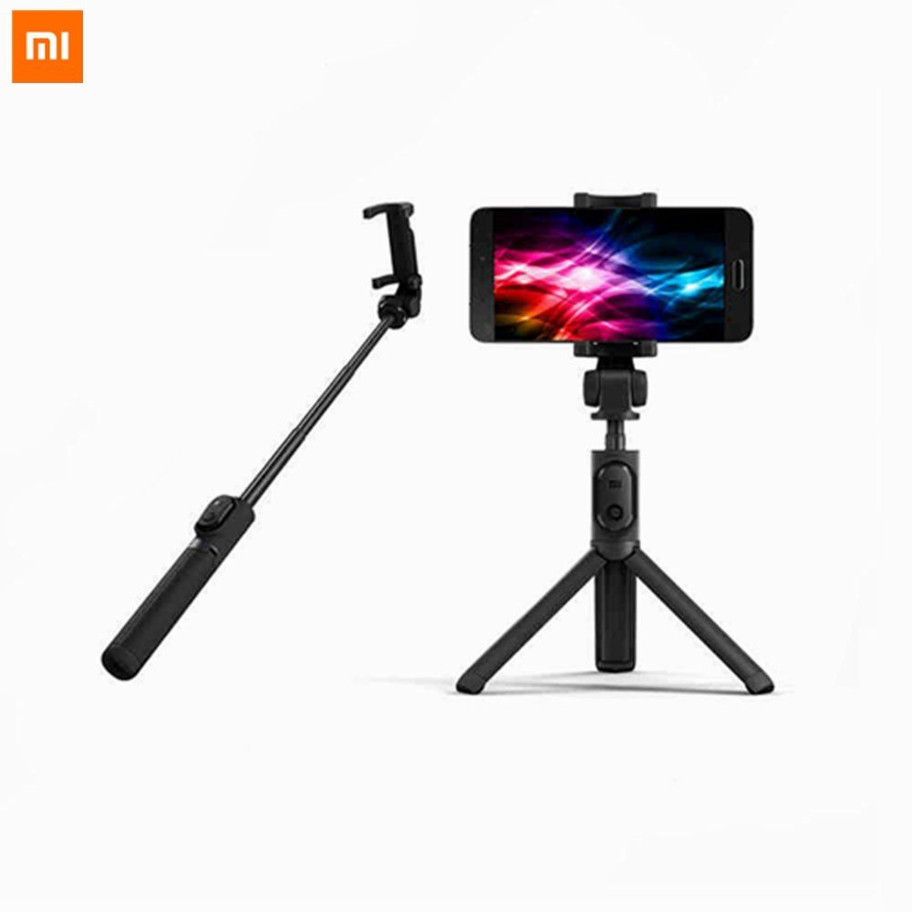 Original Xiaomi Mi Selfie Stick Bluetooth 3.0 Remote Control 360 Rotation <font><b>Foldable</b></font> Compact/Wired Version Android 4.3 IOS 5.0+