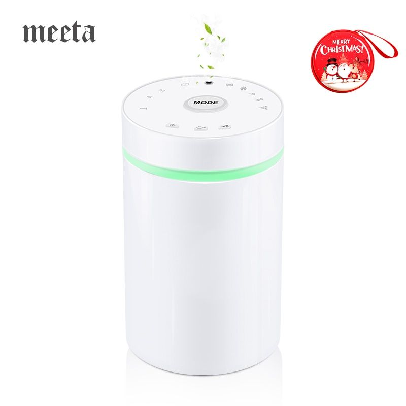 Waterless & Wireless Aromatherapy Diffuser Essential Oil Aroma Diffusers Oil Nebulizer for Car LED Light Aromaterapia Para Casa