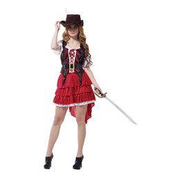 Karibia karnaval kostum natal cosplay anime halloween kostum untuk wanita pirat fancy dress bajak laut wanita sexy Party dewasa