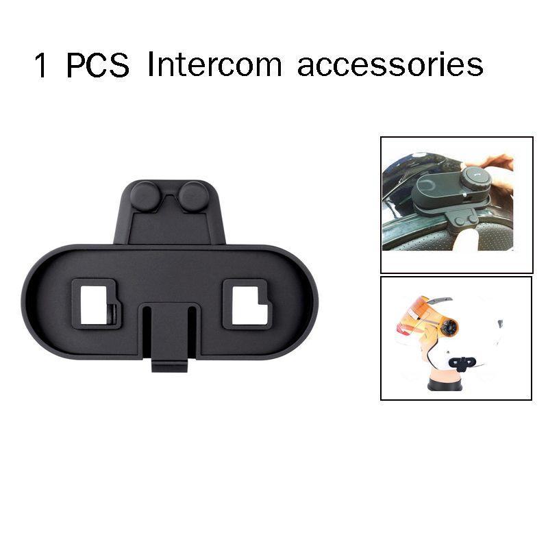 1 PCS Intercom Clip Bracket Suit for Motorcycle Intercom T-COMVB TCOM-SC T-COM02 Motorcycle Helmet accessories