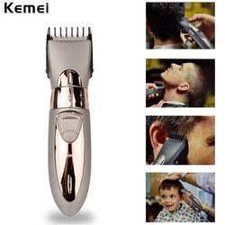 Новый Перезаряжаемые Водонепроницаемая машинка для стрижки волос бороды электрический триммер для удаления волос на теле стрижка усов три...