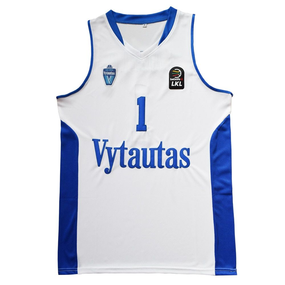 MM MASMIG LaMelo Ball #1 LiAngelo Ball #3 Lithuania Vytautas Basketball Jersey Stitched White Limited Edition