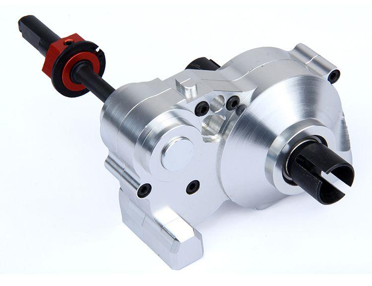 Baja CNC Getriebe Montage Set CNC Schwere metall komplette differentialgetriebe box HPI Rovan KM BAJA 5b 5 t 5sc