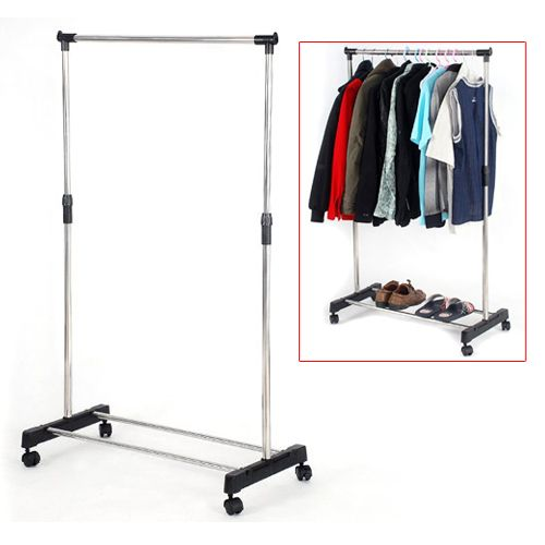 Coat Rail Garment Rack Storage Cloth Stand SODIAL