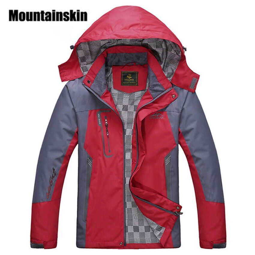 2018 New Men's Waterproof Windpoof Jackets Men Spring Autumn Jacket Coats Male Brand Clothing Plus Size L-5XL SA008