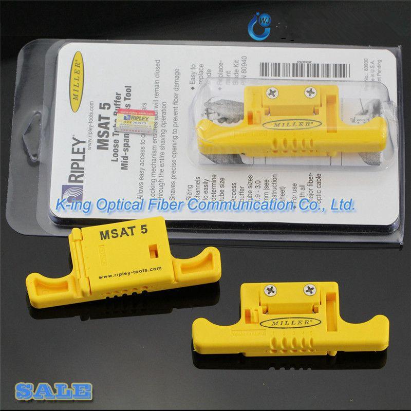 Ripley Miller MSAT-5 MSAT 5 décapant à Tube tampon lâche 80930/outil d'accès à mi-portée 0.9mm à 3.0mm décapant à Fiber optique