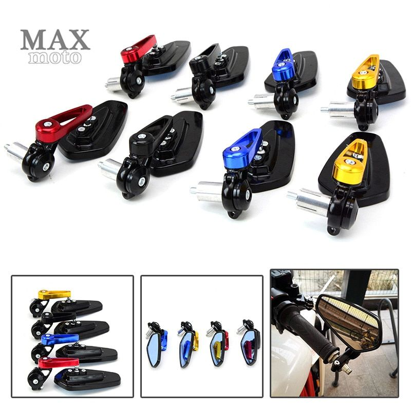 motorcycle  4 color bar end mirror for For Aprilia SHIVER/GT 2007-2014 2009 2010 2011 2012 2013