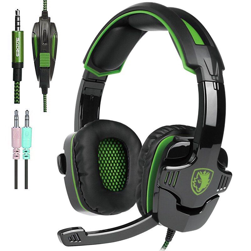Sades SA-930 Casque PS4 Gaming casques head set filaire écouteurs Casque avec microphone pour pc ordinateur mobail téléphones