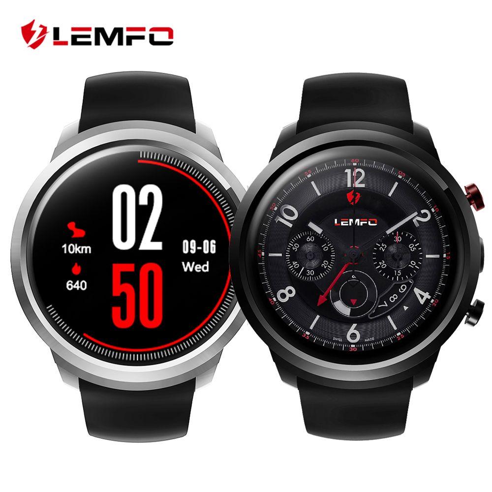 LEMFO LEF2 Android 5.1 Montre Smart Watch Téléphone Deux Modes MTK6580 Quad Core 512 MB + 8 GB Smartwatch de Fréquence Cardiaque moniteur