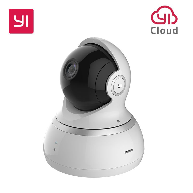YI 1080P Dome Camera Night Vision International Version Pan/Tilt/Zoom Wireless IP Security <font><b>Surveillance</b></font> YI Cloud Available