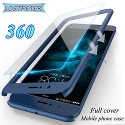 Lujo cubierta completa para Huawei mate 10 Lite caso 360 protector mate duro PC Fundas para móviles para Huawei mate 10 Pro caso con vidrio