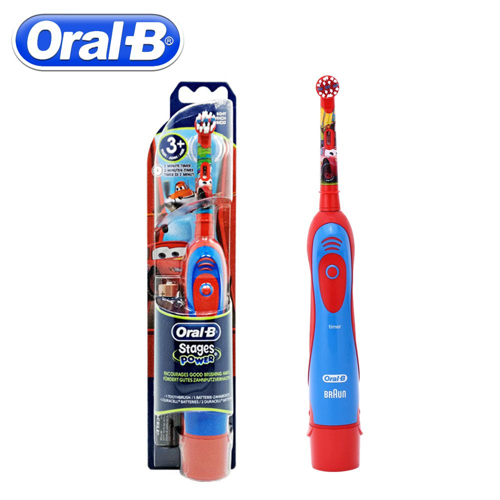 Oral B Children Electric Toothbrush Oral Care Kids Electronic Brush <font><b>Stages</b></font> Battery Power Tooth brush Electric