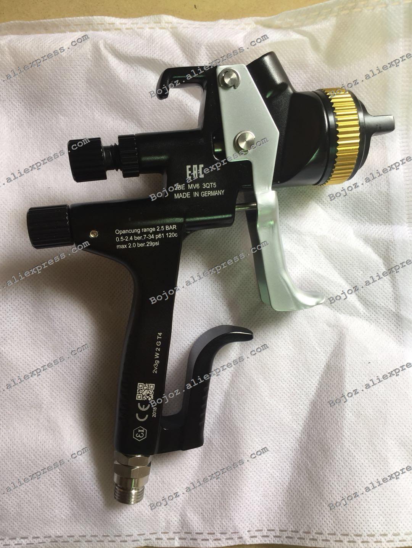 EAC Black Limited Edition 5000B HVLP PHASER Spray Gun-1.3 Noz w/t cup for Car,Porsche Design Painted Sprayer gun