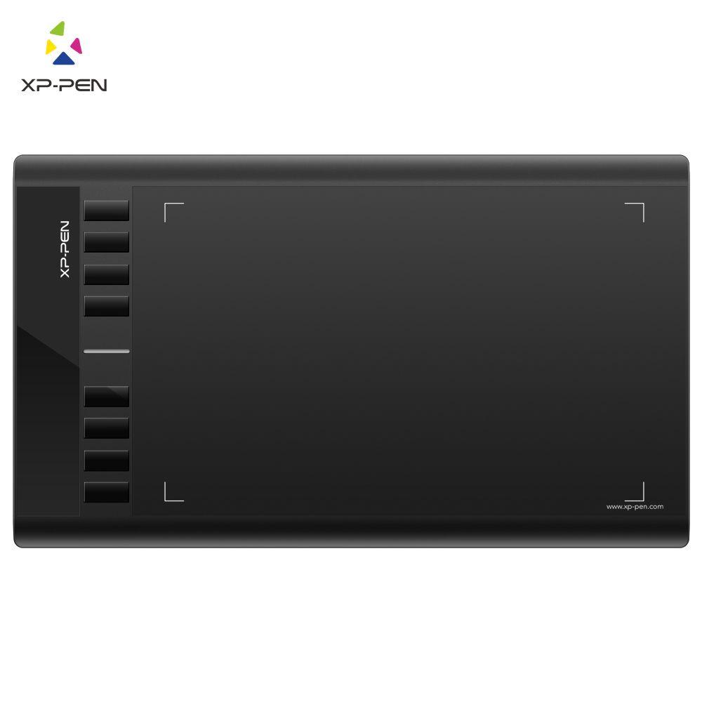 XP-Pen Star03 tablette de dessin graphique 10x6 pouces pour débutant avec 8 touches express et stylet P01 pas de piles et de charge