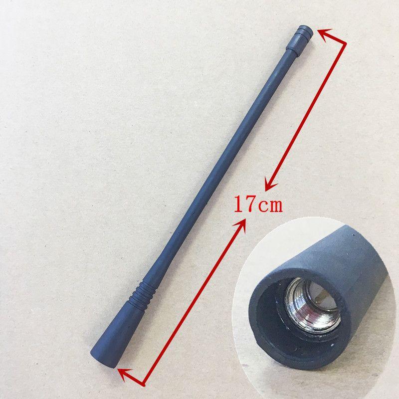 Honghuismart uhf 400-470 mhz antena de goma para vertex standard vx168, vx160, vx231, vx230, vx354, vx418 etc walkie talkie