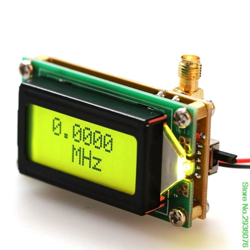 New Arrive High Accuracy Frequency Counter RF Meter 1~500 MHz Tester Module For ham Radio Drop Shipping Support