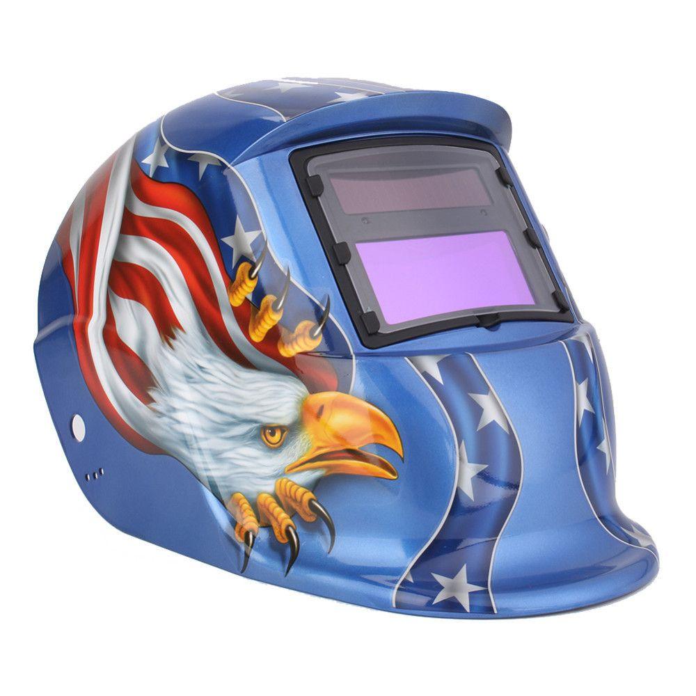 Electric Welding Mask/Helmet/Welding Solar Automatic Darkening Helm Welder Mask TIG MIG MMA For Welding Machine OR Cutter