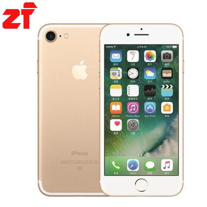 Apple iPhone 7 New Original  2GB RAM 32gb 128GB 256GB ROM IOS 10 LTE  Quad Core Fingerprint Brand Cell Phones iphone7