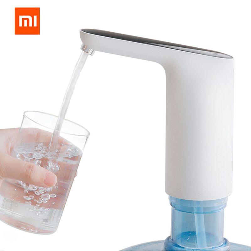XIAOMI Mijia 3 vie automatique USB Mini commutateur tactile pompe à eau sans fil Rechargeable distributeur électrique pompe à eau avec câble USB