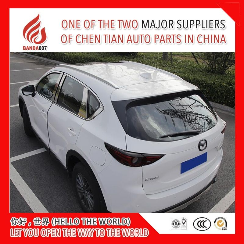 High quality Aluminium alloy screw install side rail bar roof rack for Mazda CX-5 cx5 2017 2018 17 18
