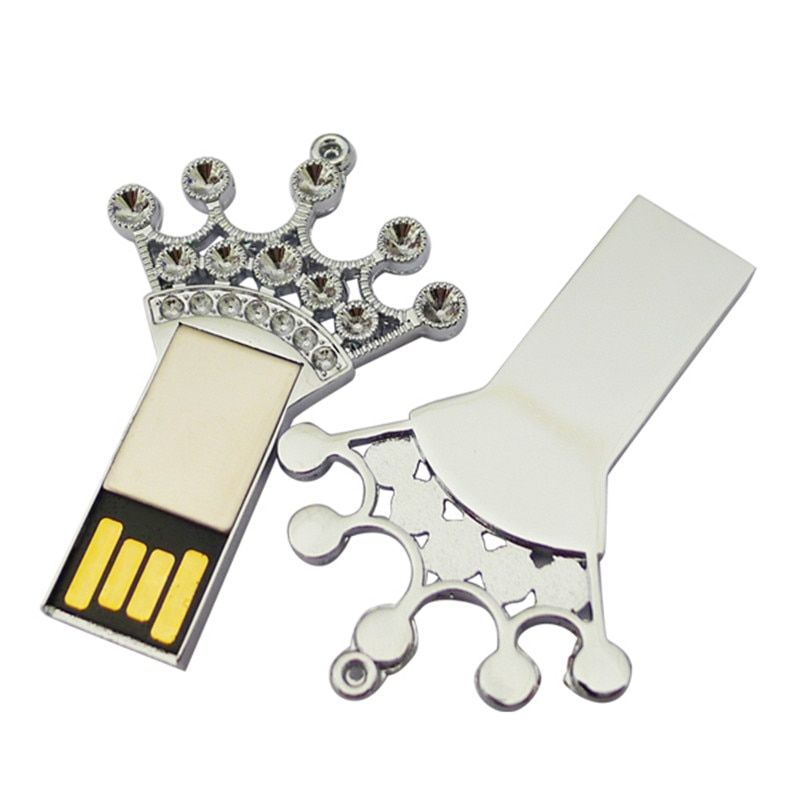 2017 Novelty Goods Promotion Gifts Good Chip 4GB 8GB 16GB 32GB Crown Keys Usb Flash Drive with Free Shipping