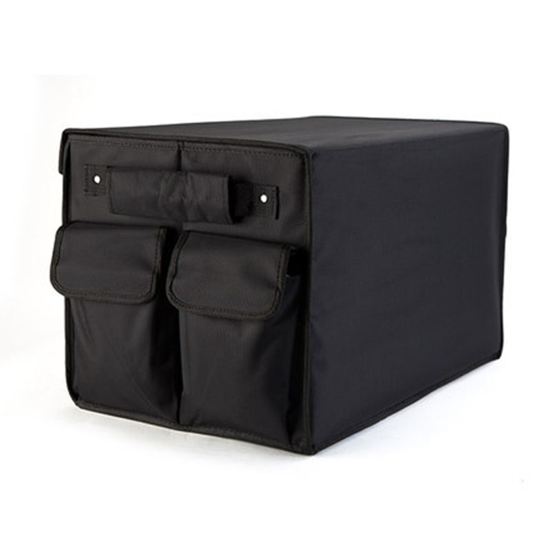 Coffre de voiture boîte organisateur sac de rangement pliant noir oxford organisateur de voiture pour accessoires auto rangement sacs pliants