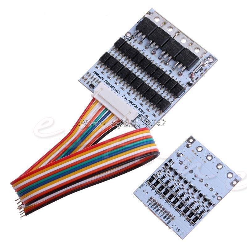 SIV 10 s 36 v Li-Ion Lithium-Zelle 40A 18650 Batterie Schutz BMS PCB Board Balance Z17 Drop Schiff