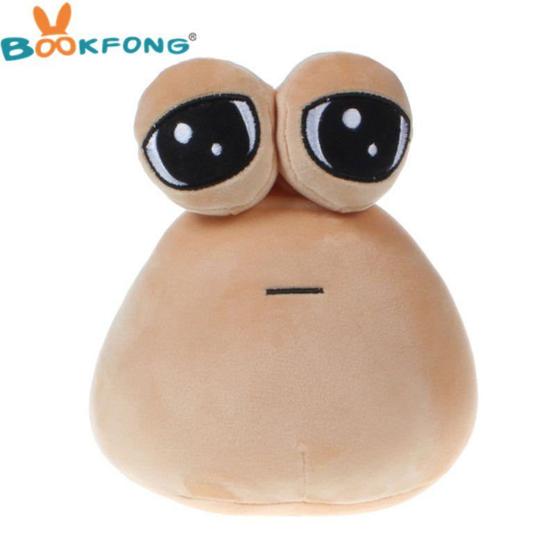 Hot Game My Pet Alien Pou Plush Toy Furdiburb Emotion Alien Plushie Stuffed Animal Pou Doll 22cm