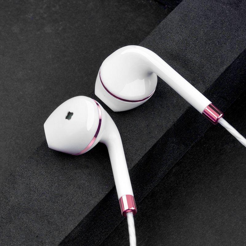 Original verdrahtete kopfhörer für apple iphone 6 5 xiaomi samsung Android telefon jack bass earpods hörer weiß Stereo headset ohrhörer