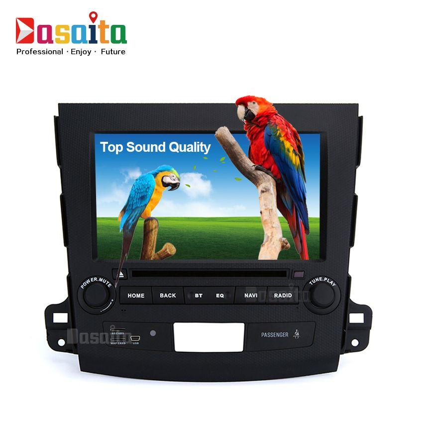 Автомобиль 2Din Android 7.1 стерео для Mitsubishi Outlander Peugeot 4007 В Радио IPS экран GPS Радио видео плеер головного устройства WI-FI