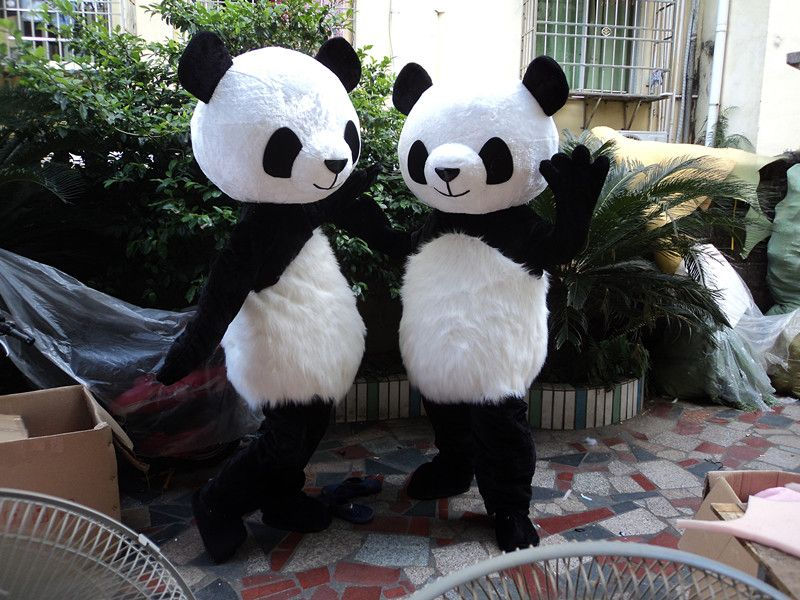 Panda Ours Mascotte Costume Fancy Dress Adulte Costume Party Dress
