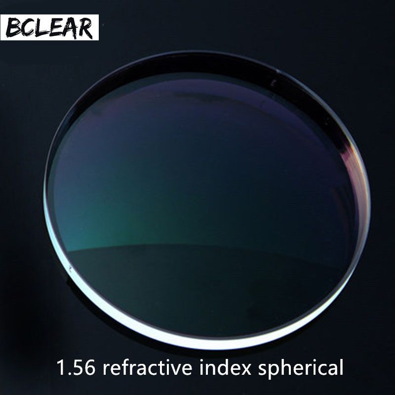 Lentilles de Prescription sphériques à rayures dures BCLEAR 1.56 lentille optique myopie dioptrique lecture presbytie myope myope myope