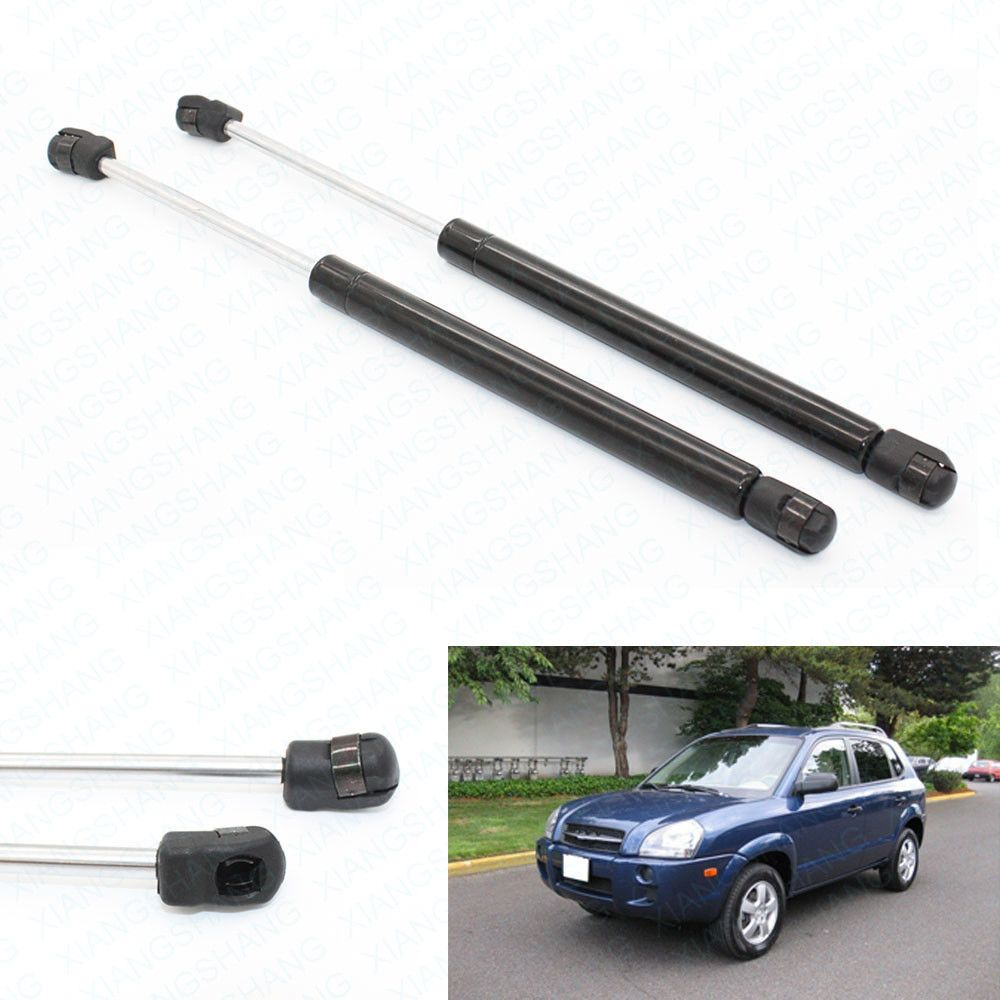 2pcs Rear Glass Auto Gas Spring Struts Lift Supports Rods Fits for Hyundai Tucson 2005 2006 2007 2008 2009