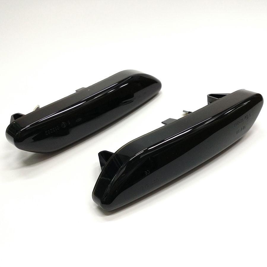 Geräucherte LED Dynamische Seite Marker Lampe Front Fender Blinker Anzeige Lichter Für Mini Cooper R60 Countryman R61 Paceman