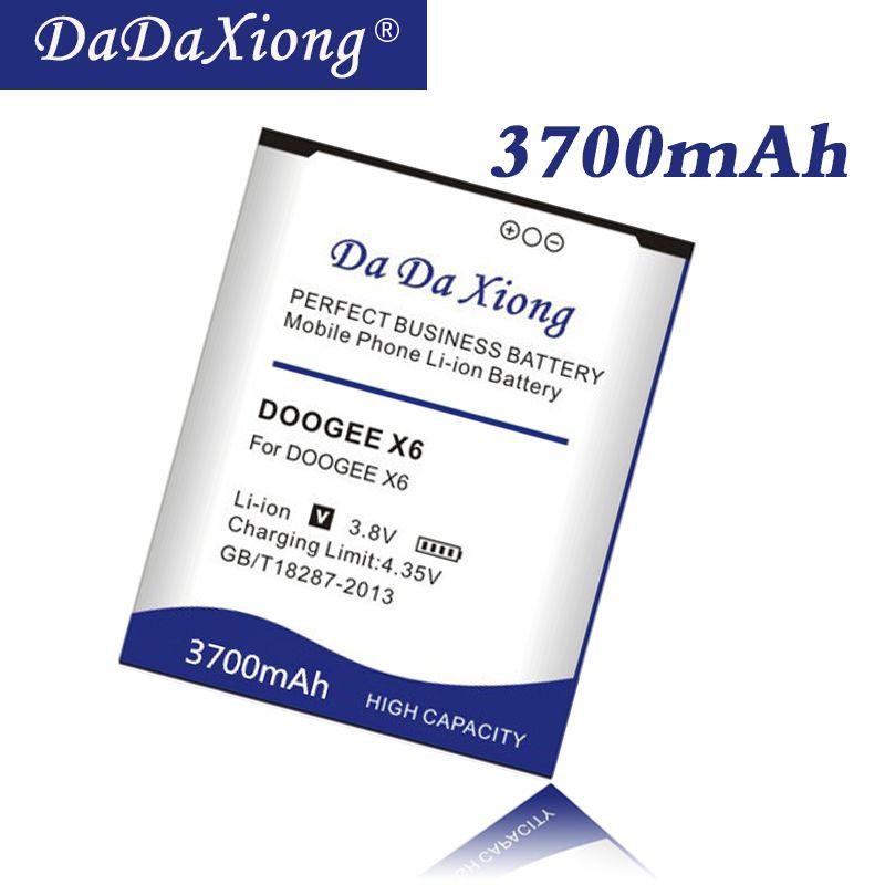 Da Da Xiong 3700 mah DOOGEE X6 Batterie für DOOGEE X6 DOOGEE x6 pro Handy Batterie