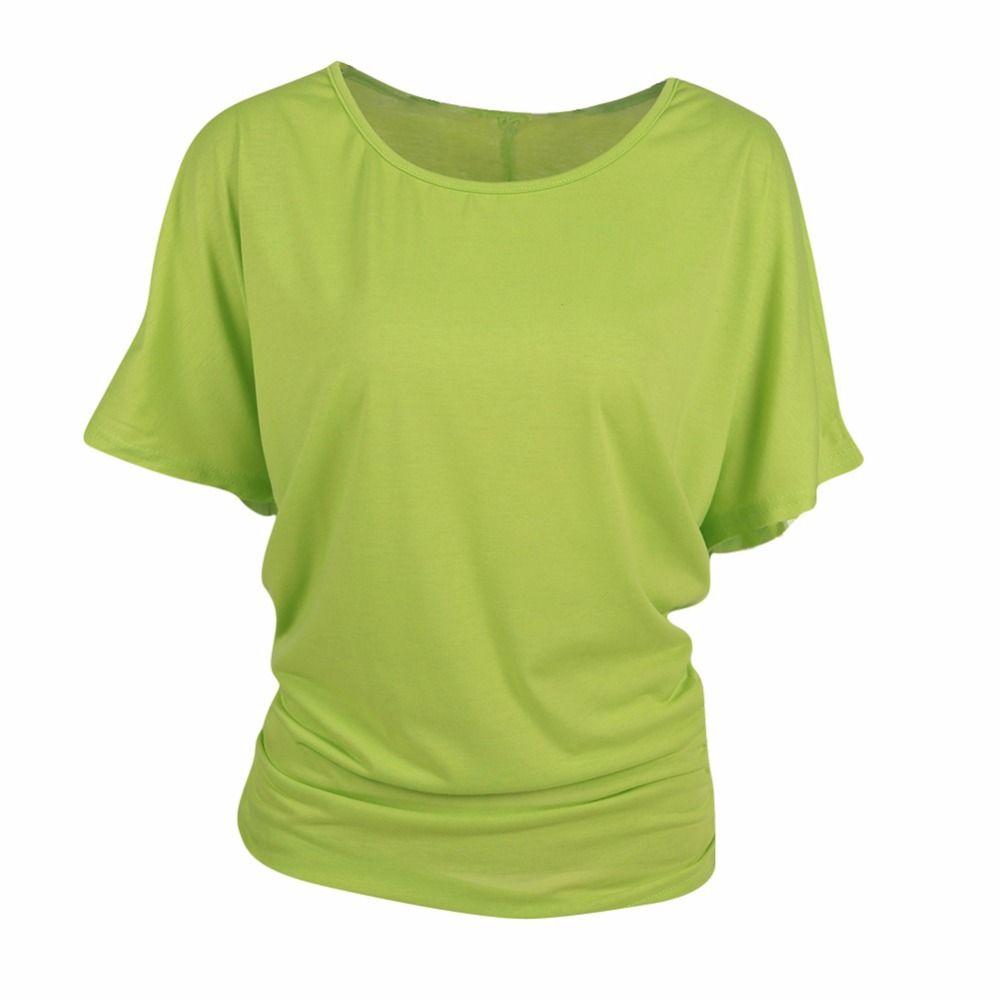 Femmes t-shirt plus la taille coton cut out off épaule bateau cou à manches courtes dolman drapé lâche tunique top pour yoga fonctionnement jogging