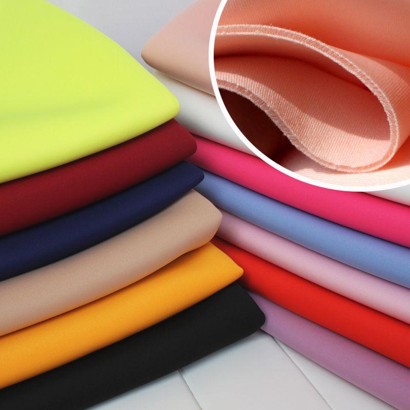Sandwich Spandex tissu tricoté tissu Air couche tissu espace coton jupe tenue Baseball veste 60