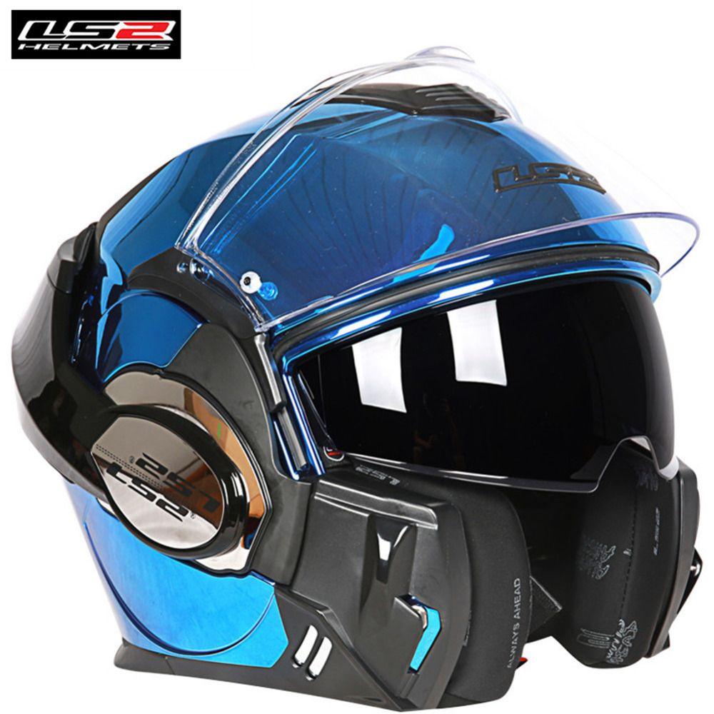 LS2 FF399 Tapfere Helm Modulare Volles Gesicht Motorrad Helm Flip Up Casque Casco Capacete Moto Kask Helm Helme Touring