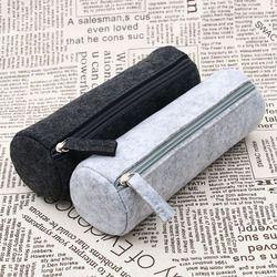 1 PC Vente Chaude De Mode Portable Sentait Crayon Pen Case Cosmétique Maquillage Coin Pouch Zipper Sac École Papeterie Fournitures de Bureau