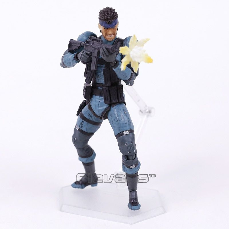 Figma 243 METAL GEAR SOLID 2: SONS OF LIBERTY Snake PVC Action Figure Collectible Model Toy