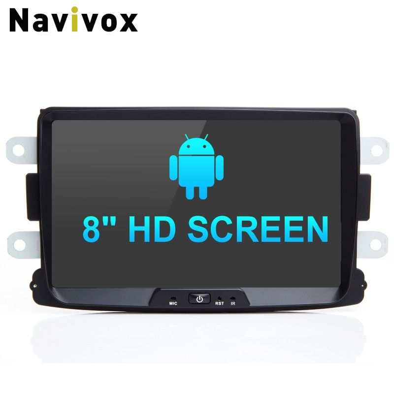 Navivox 8''Car Radio Multimedia Player For Duster PX30/PX5 RAM 4G Car GPS Navigation Stereo Audio Player Radio GPS Navigation