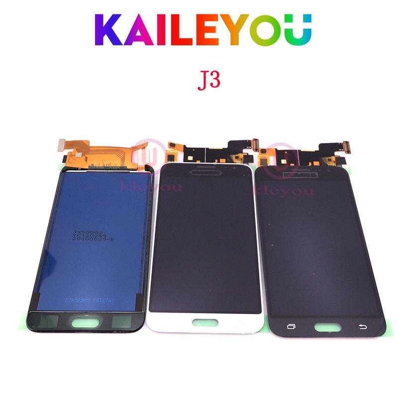 For Samsung Galaxy J3 J300 2015 J320 J320A J320F J320M J320FN 2016 LCD Display Touch Screen Digitizer Free shipping TFT