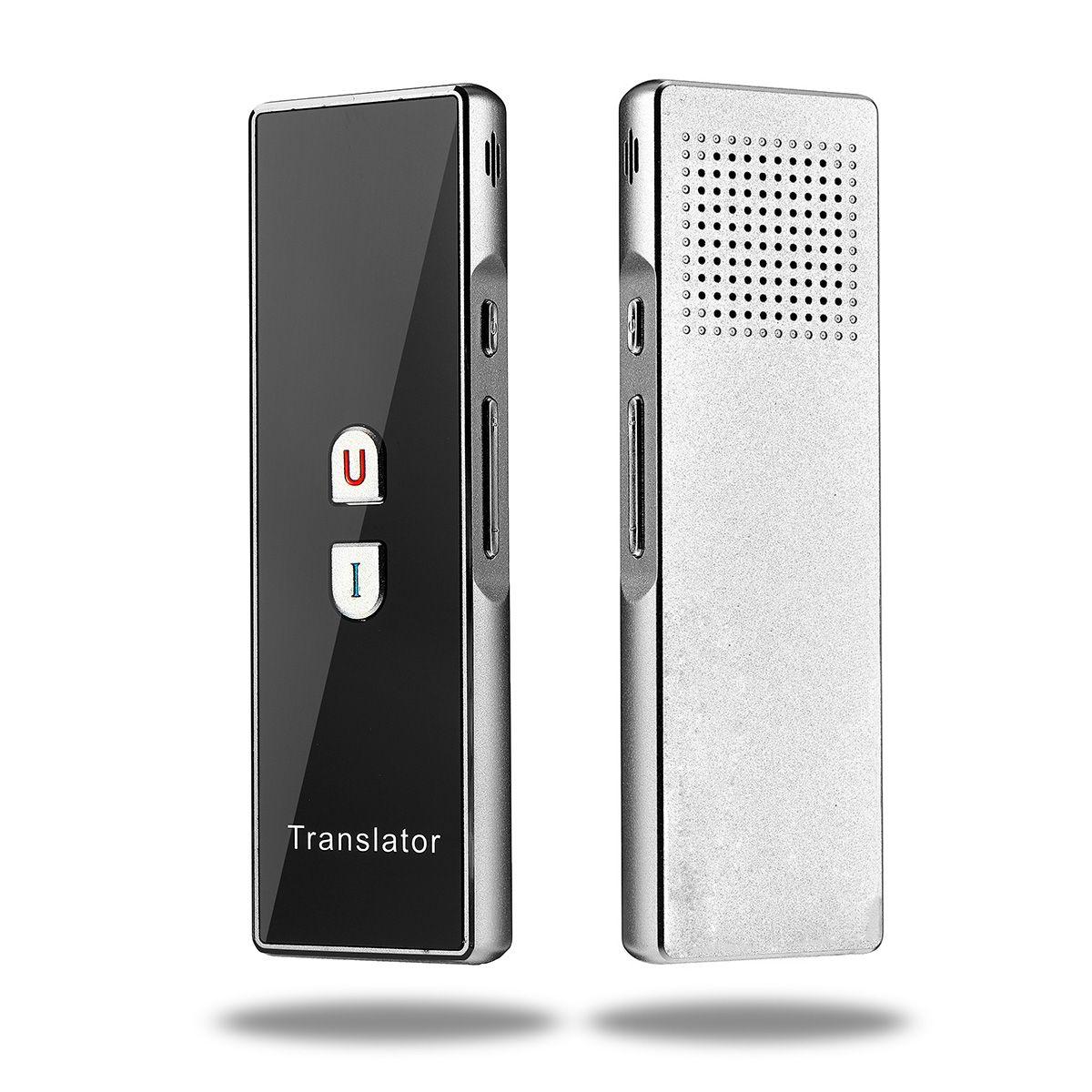 Portable Smart Voice Translator Real Time 40 Languages Translation Instant Bluetooth Traductor Translator Learning Business