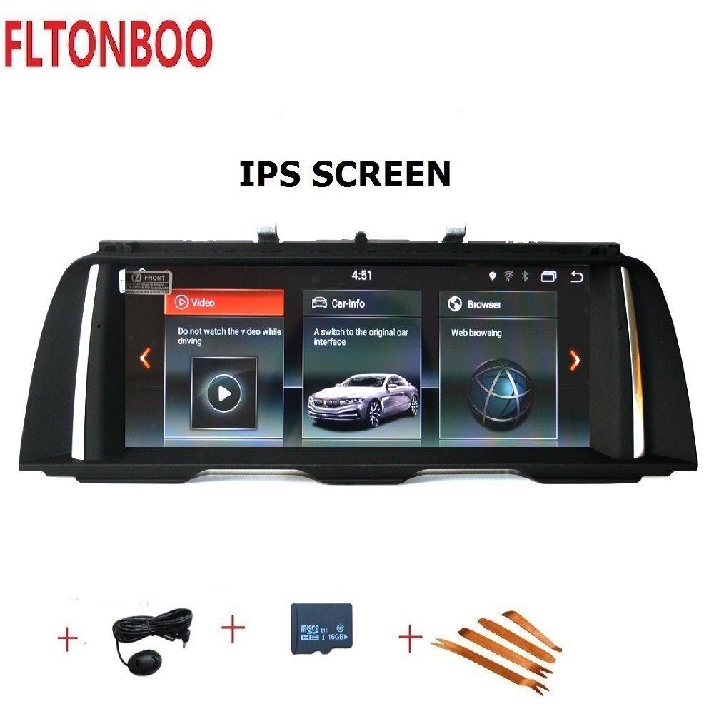 10,25 zoll Android 7.1 Auto Gps radio plyaer navigation für BMW 5 Series F10 F11 Original CIC NBT 4 core 2 GB RAM 32 GB ROM wifi