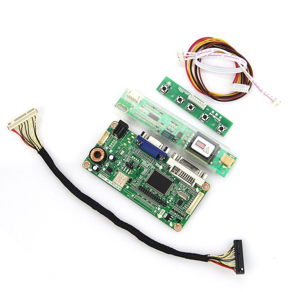 VGA + DVI M. RT2261 M. RT2281 LCD/LED Controller Driver Board Für LP171WX2 LP171WP4-TL03 LVDS Monitor wiederverwendung Laptop 1440x900