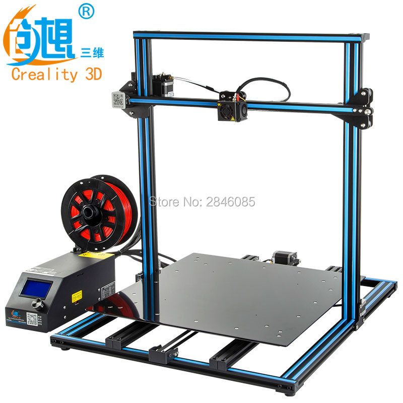 3D Printer Creality 3D CR-10S CR-10 <font><b>Optional</b></font> ,Dua Z Rod Filament Sensor/Detect Resume Power Off <font><b>Optional</b></font> 3D Printer DIY Kit