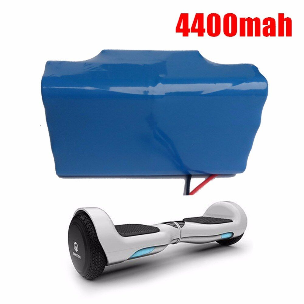 36V <font><b>4400mAh</b></font>/4.4Ah Li-ion battery (18650 10S2P) for 2 WHEEL smart self balancing electric unicycle Scooter (CN cell )