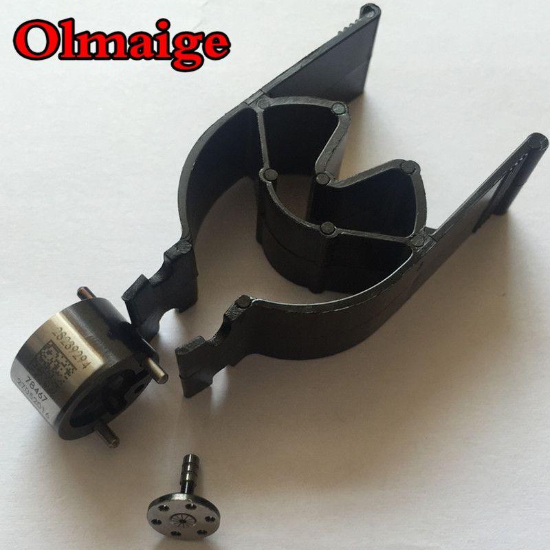 Black diamond-like carbon coating 28239294 28440421 9308-621C 9308z621c fuel injector common rail control valves for delphi