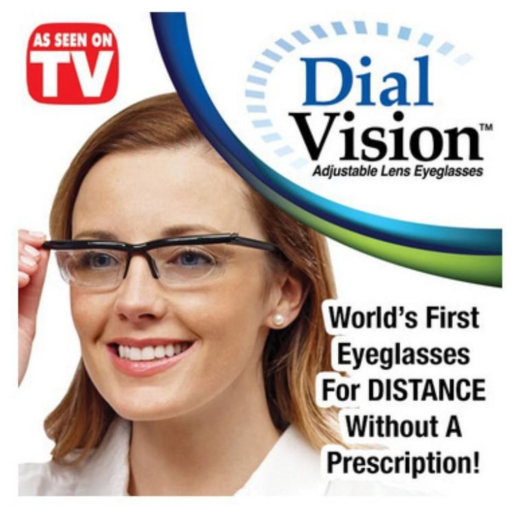 [TOOL] TV dial vision adjustable focal length mirror the general myopia and presbyopia magnifying glass #0053